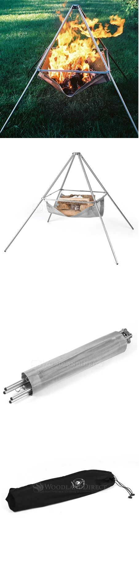 The Wanderer Stainless Steel Portable Fire Pit