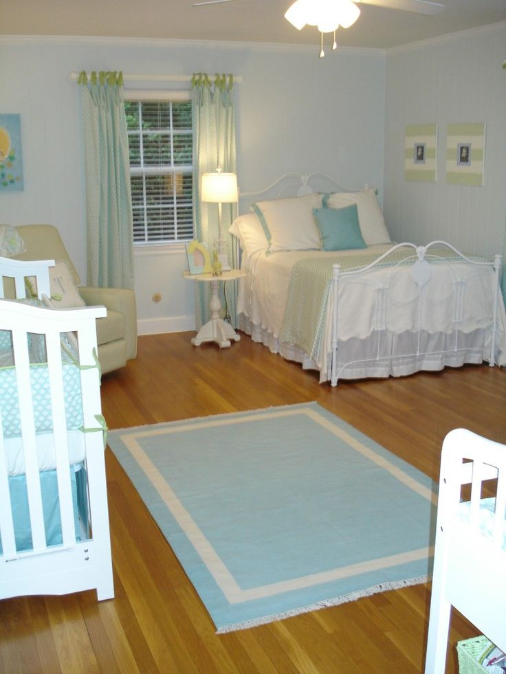 boy nursery - I wish I had gone with white in my son's room, but I gave into the dark wood trend. Dang it!