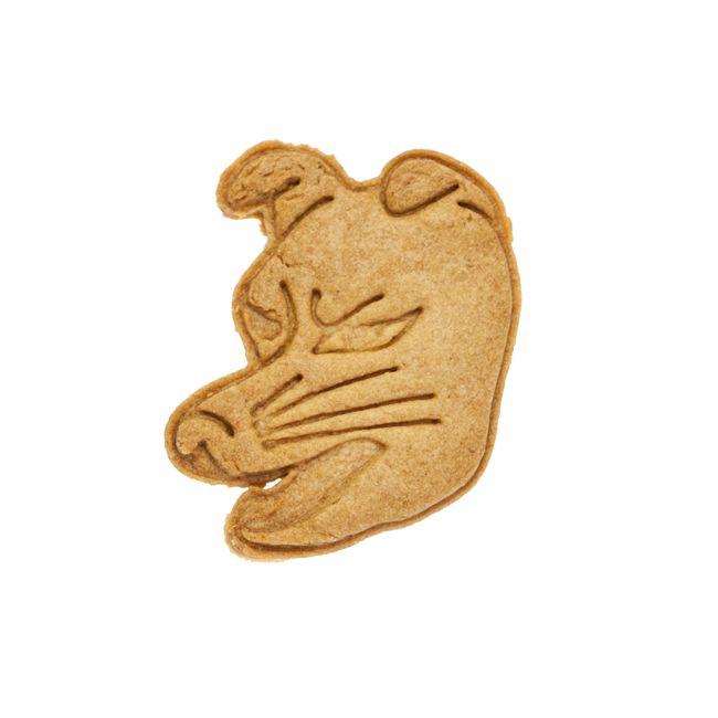 Cookie Cutter Museum「天狐」狐が1000年生きると天狐になり、千里の先の事を見通すという。尾の数は四尾。野狐のように悪さはない。artist:sacsac型の色は選べません、ご了承くださいませ。クッキーになった平均の大きさ:幅5.1cm × 高さ6.0m × 厚み freesacsac謹製クッキー型を使用したクッキーのつくり方はこちらhttp://sacsac.jp/page-1268/
