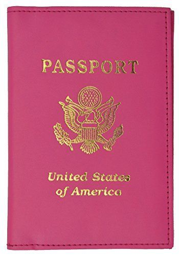 New Trending Luggage: Travel Passport Organizer Holder Credit Card Case Protector Cover Wallet (Hot Pink). Travel Passport Organizer Holder Credit Card Case Protector Cover Wallet (Hot Pink)   Special Offer: $8.95      388 Reviews Passport Holder with 4 Credit Card slots. Beautiful gold USA emblem. Words PASSPORT and United States of America are imprinted in goldVibrant Color Passport Holder4...