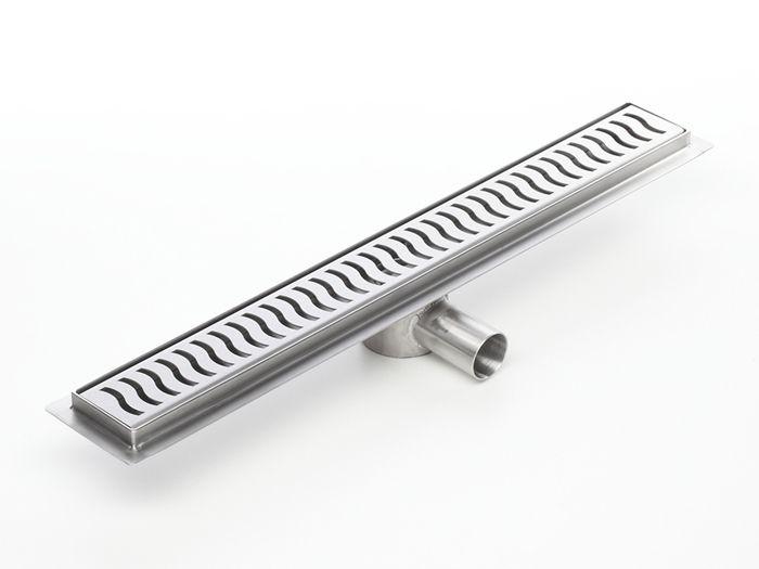Montada directamente junto a la pared o en cualquier posición libre en el cuarto de baño, la canaleta te permite realizar cualquier diseño, y demás se adapta fácilmente  a tus exigencias constructivas.
