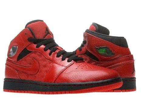 Air Jordan 1 Retro 97 Txt - Gymnase Tricot Rouge / Noir