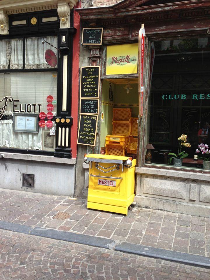 Mastelle, Ghent street food