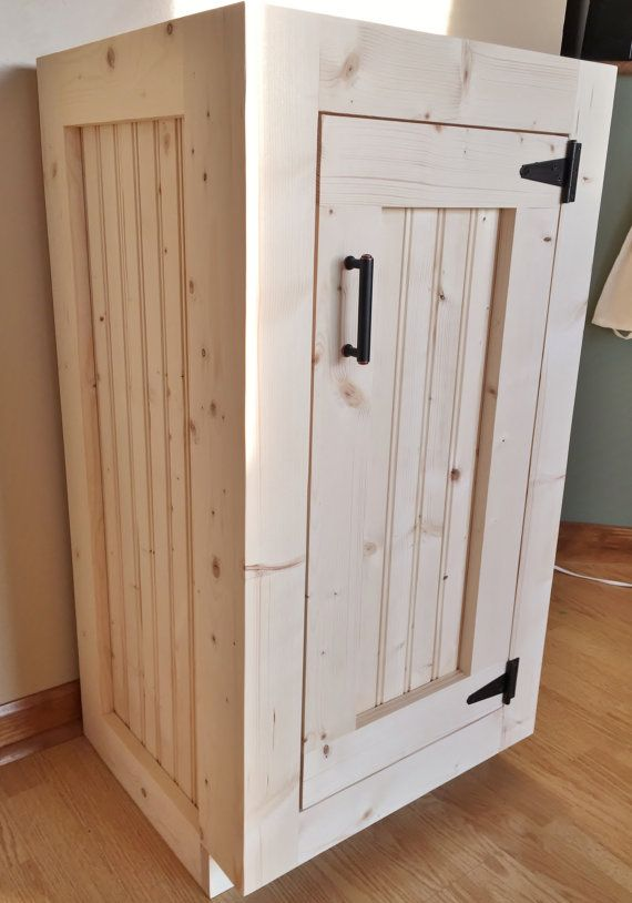 Bathroom Vanity   Rustic Wood Cabinet With New England Style Beadboard and  Exposed Hinges  Completely Customizable. 17 Best ideas about Country Bathroom Vanities on Pinterest