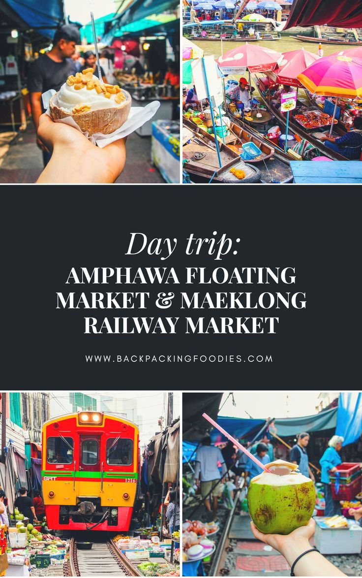 Visiting floating markets is popular among Bangkok visitors. Amphawa floating market is one of the biggest, and the most authentic floating market. Not far from Amphawa floating market is Maeklong railway market. You can easily make this a wonderful day trip. We promise its worth both the time and money! Here's our guide to how you can do it.