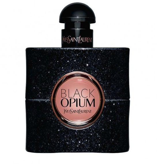 Parfum Black Opium de Yves Saint Laurent http://www.vogue.fr/beaute/shopping/diaporama/parfums-rentree-2014/19955/image/1042148#!black-opium-de-yves-saint-laurent