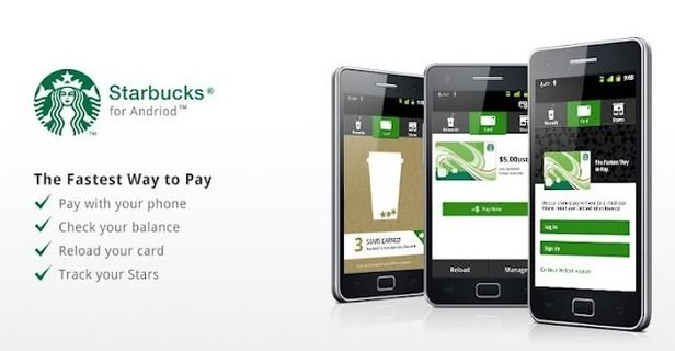 Starbucks for Android now has fingerprint support - Learn More about this amazing application on thenoticecentre.com