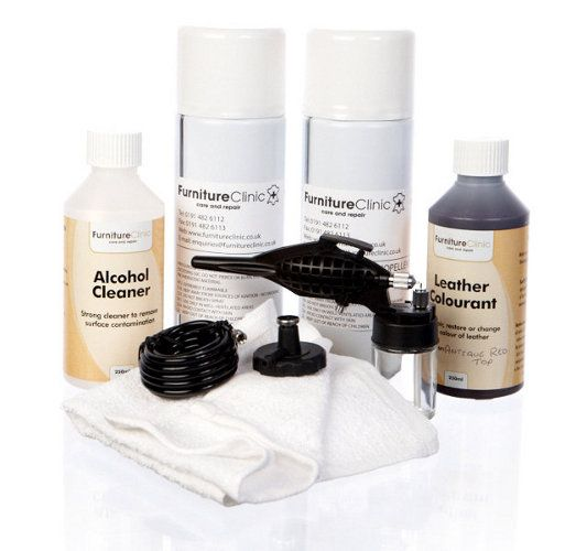 Antique Finish Kit Specially Formulated Colors To Re Apply The Color To  Worn Antique And. Leather DyeFurniture ...