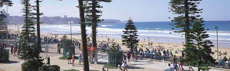Promenade at Manly Beach #Sydney #Australia . Image Hamilton Lund