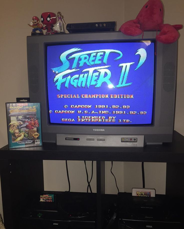 Interesting one by wattswc_vg #retrogaming #microhobbit (o) http://ift.tt/1L1ljM5 some Street Fighter 2 on Genesis. Why would I play SF2 on Genesis when the new one came out today you may ask. Well because it doesn't fucking work. Months of beta preordered for like half a year no fight pads in stock walk to EB games in 10 feet of snow and the fucking servers are down. This is after having to download a 7gig patch. This is why modern games now will never have the charm and collectibility as…