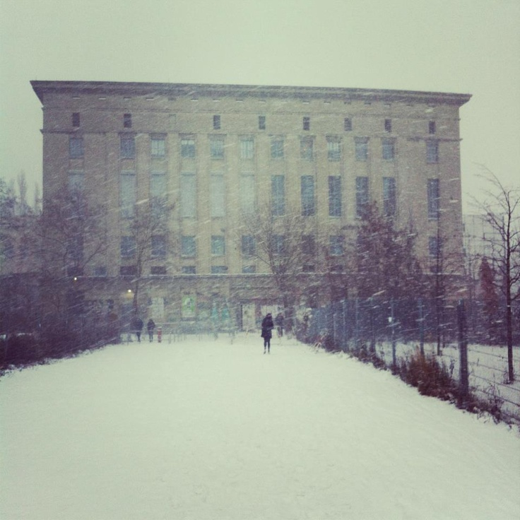 Berghain Berlin - I know I have been before but I want to go again... And again... And again...