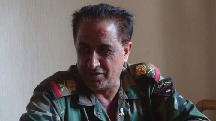 #SAA General Ziad Saleh, replaced former Head of #Aleppo's security committee after militant gains...