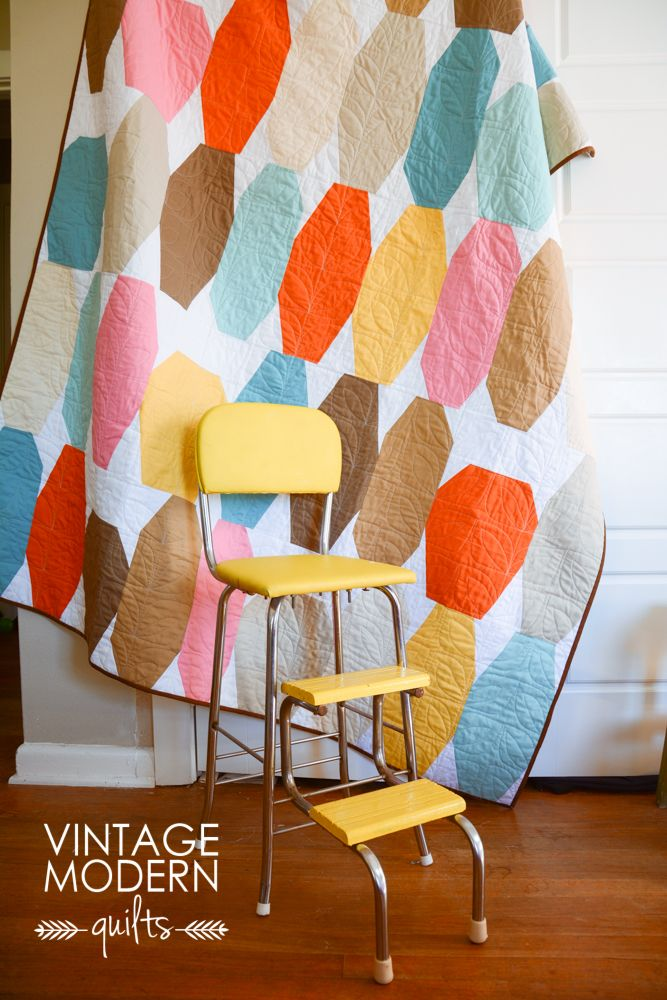 by Vintage Modern Quilts | #quilt