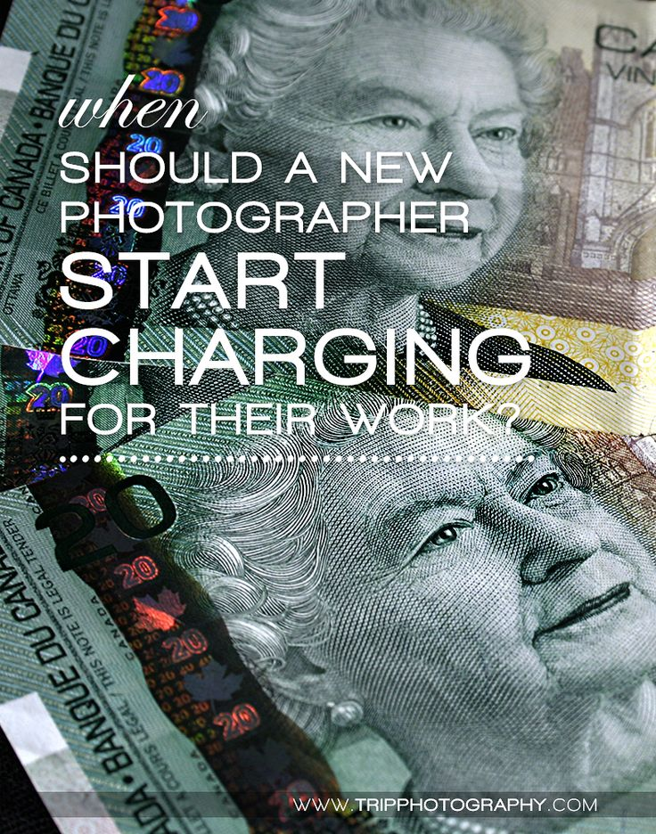 When Should a New Photographer Start Charging for Their Work? | Learn Photography | Photography Business | Professional Photography | by Christine Tripp of Tripp Photography
