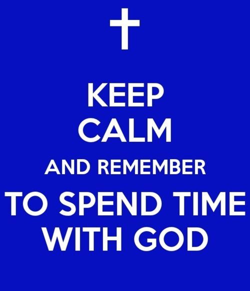 1. Remember that spending time with God is not about ritual, but relationship  When you and I were born again, we entered into a relationship with Almighty God. He is not only our God, he is our Heavenly Father. We have freedom before Him, and access to His throne. We don't have to be afraid of Him. Rituals might be burdensome, but relationships with loved ones rarely are. Spending time with one that you love is exciting and life–changing – and that's how your daily time with God.