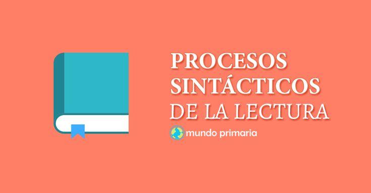 Los procesos sintácticos de la lectura - Mundo Primaria
