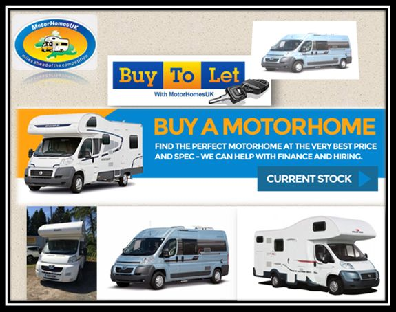 If You Like Camping In Style And Treasure Our Creative Comforts Then Motorhome Rental UK