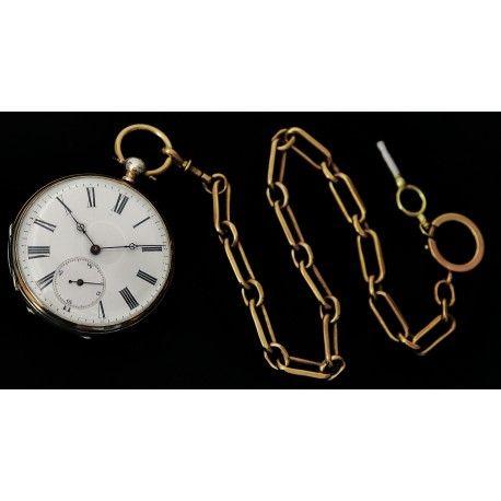 6b98b99c7021 Bellísimo reloj de bolsillo