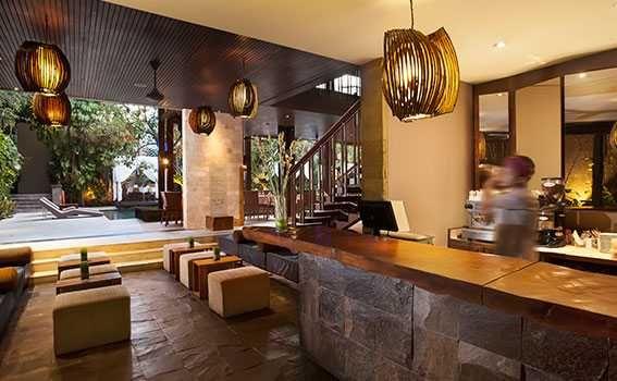 Bartender in Seminyak Bar and Restaurant