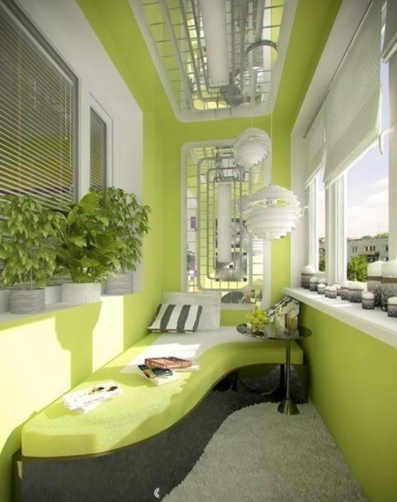 Green/ balcony