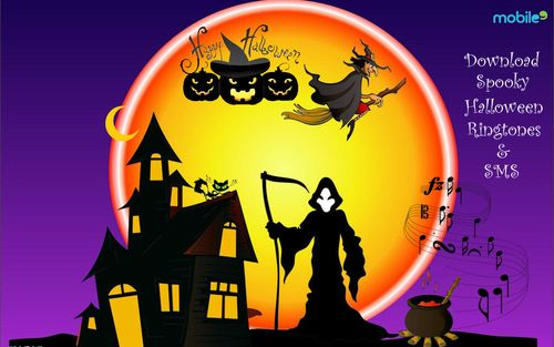 Download special Halloween #Ringtones and scare the hell out of your friends everytime you phone rings! Best recommendation from mobile9.