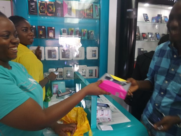 Excitement in the air as a #Wiko #Customer receives his #Fizz #AndroidPhone