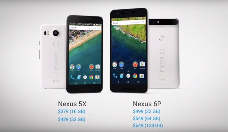 Here is the Google Nexus 5X from LG
