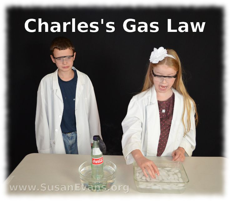 Charles's Gas Law: a fun experiment involving a glass soda bottle and a balloon - http://susanevans.org/blog/testing-charless-gas-law/