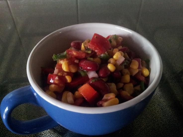 Naturally Kenko: Mexican Bean Salad (Meat Free Monday!)