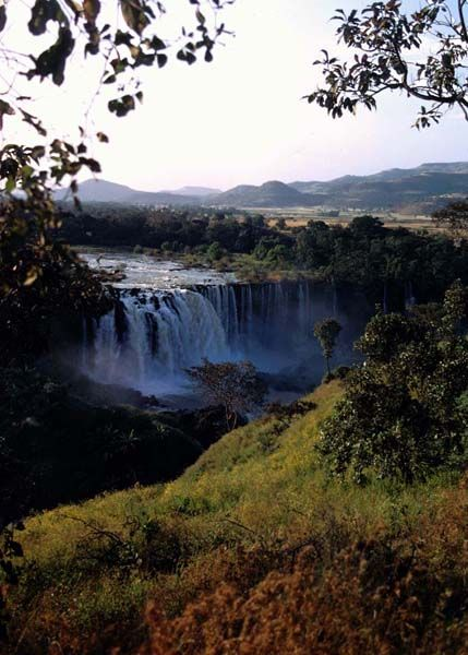 Ethiopia - Bahar Dar - I used to live there when I was little.