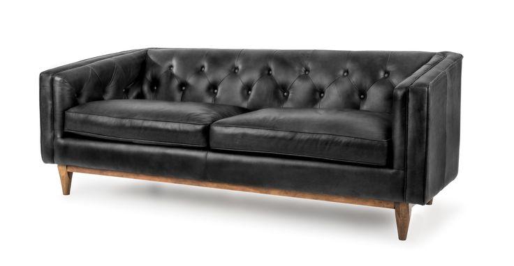Alcott Oxford Black Sofa - Sofas - Article | Modern, Mid-Century and Scandinavian Furniture