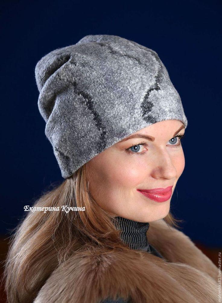 Купить Шапка валяная..женская...трансформер - шапка шапка шапка, шапка женская шапка