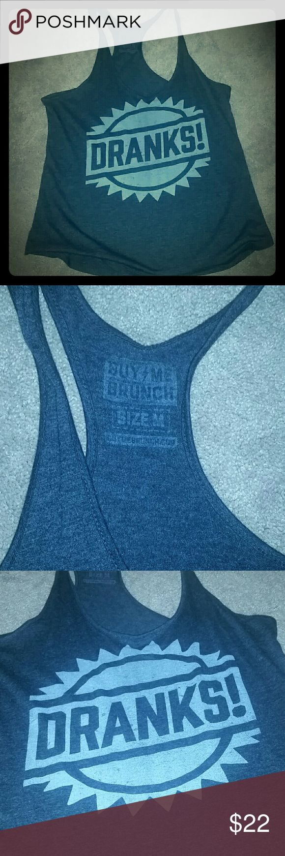 Racer back tank From BUY ME BRUNCH-The Chivery-tank. Brand new, never worn. Buy Me Brunch Tops Tank Tops