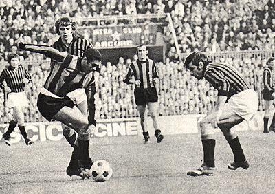 """Jair"" Jair da Costa (FC Inter Milan, 1962-1967, 119 apps, 40 goals + 1968-1972, 80 apps, 14 goals) was one of the Great of Il Grande Inter."
