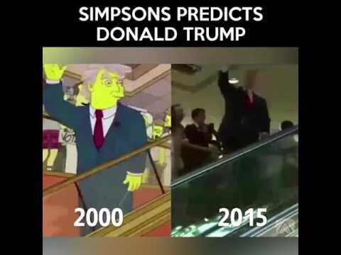 Creepily Accurate Prediction - Donald Trump Simpsons Episode