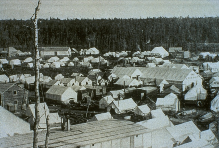 Anchorage began as a tent city of workers building the