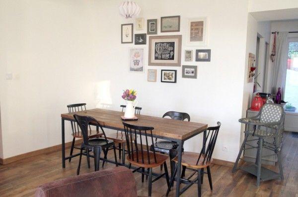 Les chaises dépareillées sont à la mode chez vous ! | Visite privée - Cotemaison.fr