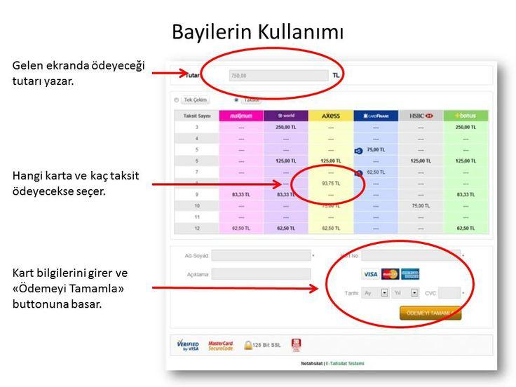 Online tahsilat ödeme sayfası ve tanıtım sunusu. http://e-tahsilat.com.tr/online-tahsilat-tanitim-sunusu.html