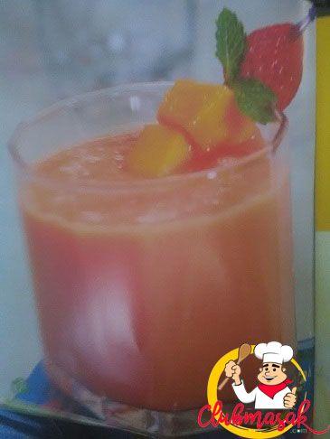 Resep Smoothie Buah Tropis, Resep Minuman Untuk Berbuka Puasa, Club Masak