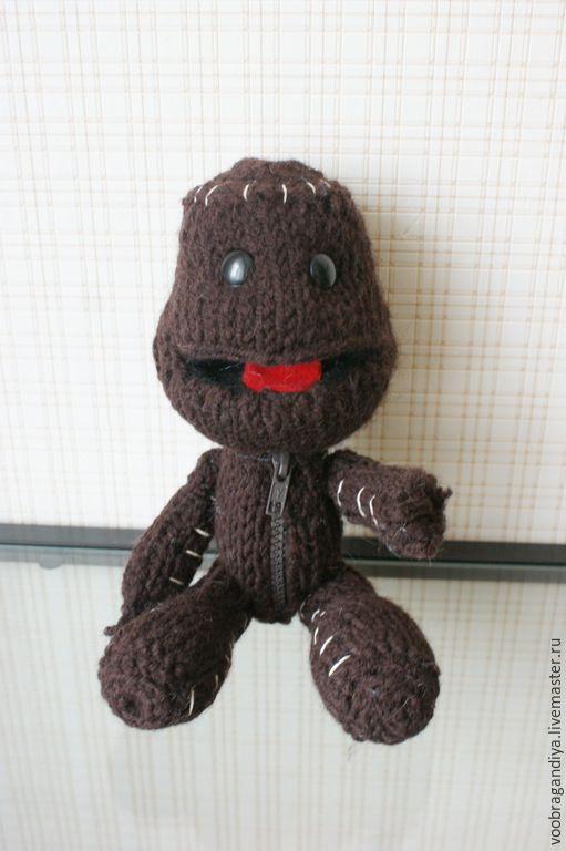 Купить Little big planet, Sackboy, Сэкбой - коричневый, персонаж игры, игры, персонаж, подарок