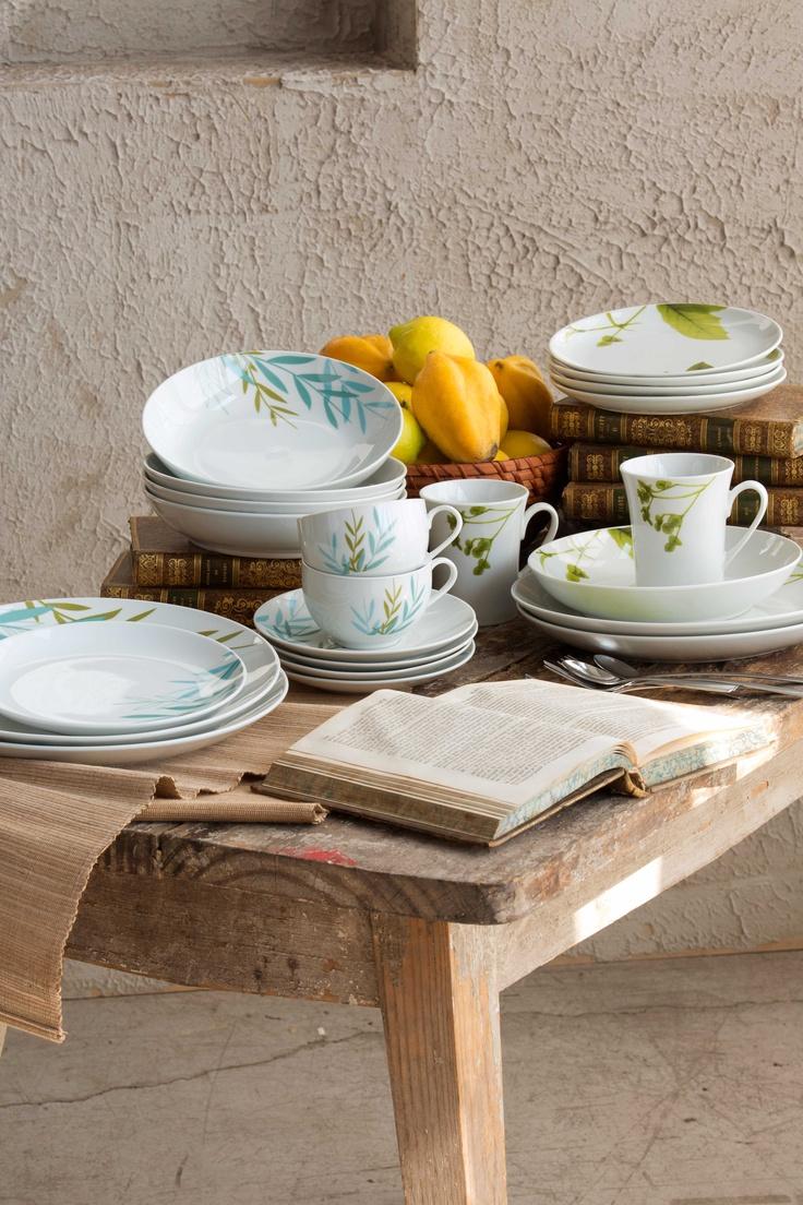 #Ceramica inspirada en las tonalidades de las hojas. #Natura #Easy #Puedo #Decoracion #Hogar