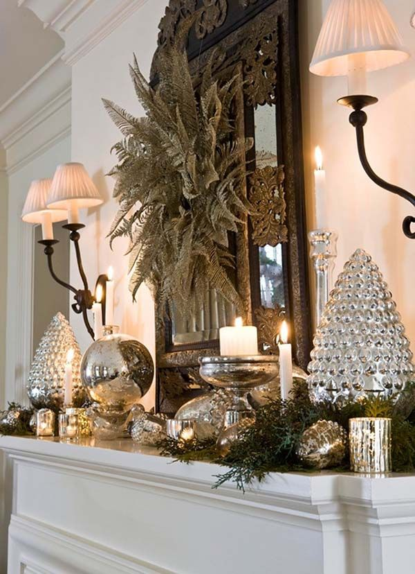 459 best Christmas images on Pinterest Christmas ideas, Merry - christmas decorations for mantels