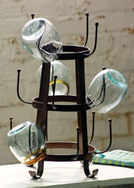 """forged iron glass dryer 