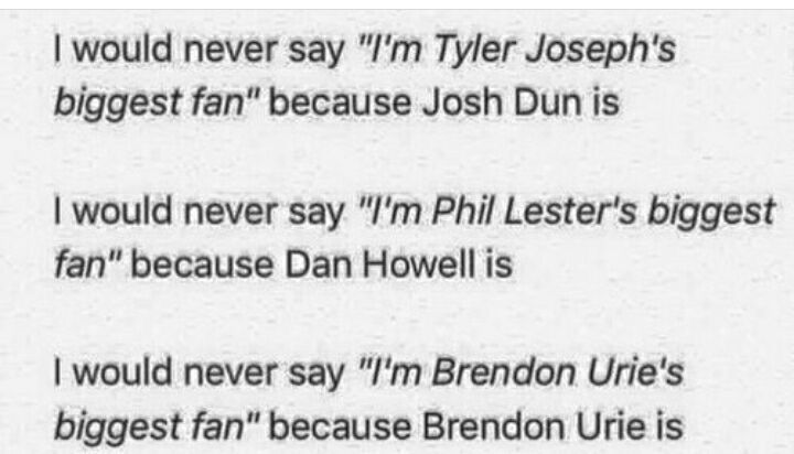 This is way too acurate>>where do I pin this?!? lol I guess to music even though Dan and Phil aren't music...