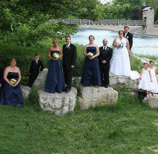Green Bay Pamperin Park Wedding