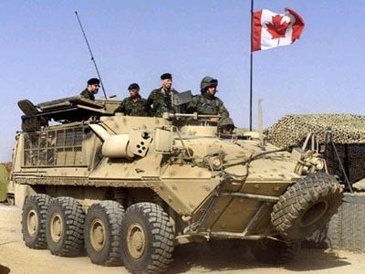 Canadian Forces Bison 8-wheeler