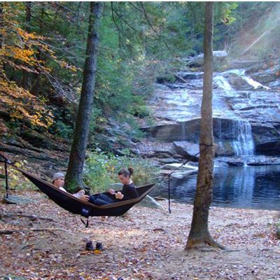 1000 Ideas About Camping Hammock On Pinterest Tent