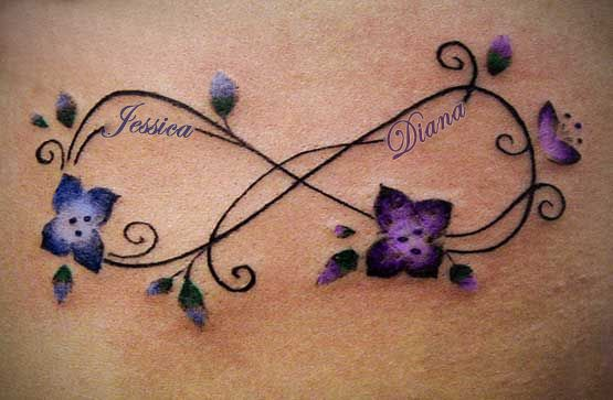 31c2735e5 My version of a mother/daughter infinity tat.   Tattoos   Infinity tattoo  designs, Infinity tattoos, Symbolic tattoos