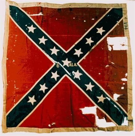 6th Alabama Flag of Northern Virginia Battle | Army of Northern Virginia