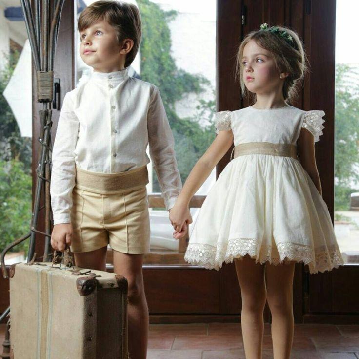 Resultado de imagen de tendencias niños arras o boda